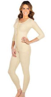Ankle-Length Bodysuit with 3/4 Sleeves